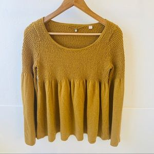 Anthropologie Knitted & Knotted sweater M